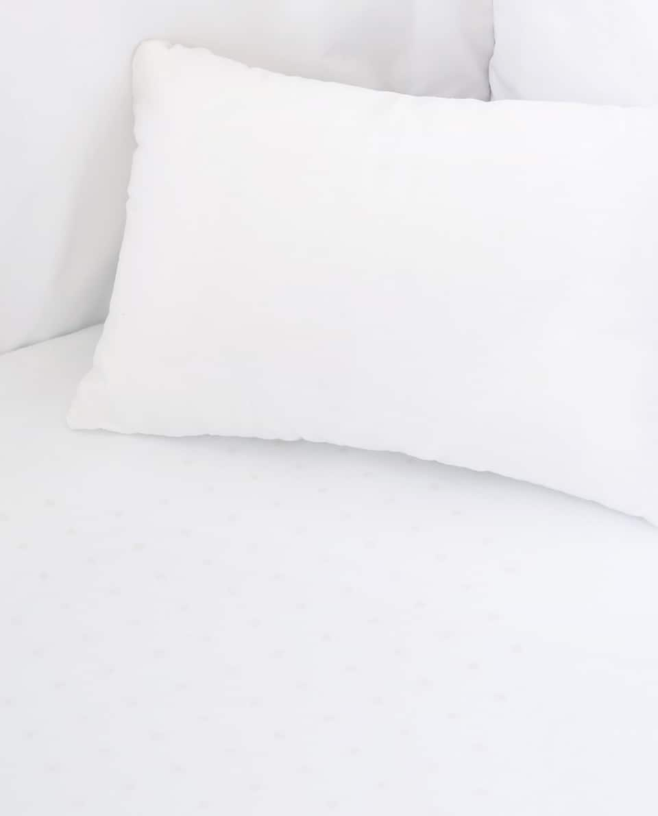 COTTON PERCALE MINI COT FITTED SHEET (PACK OF 2)