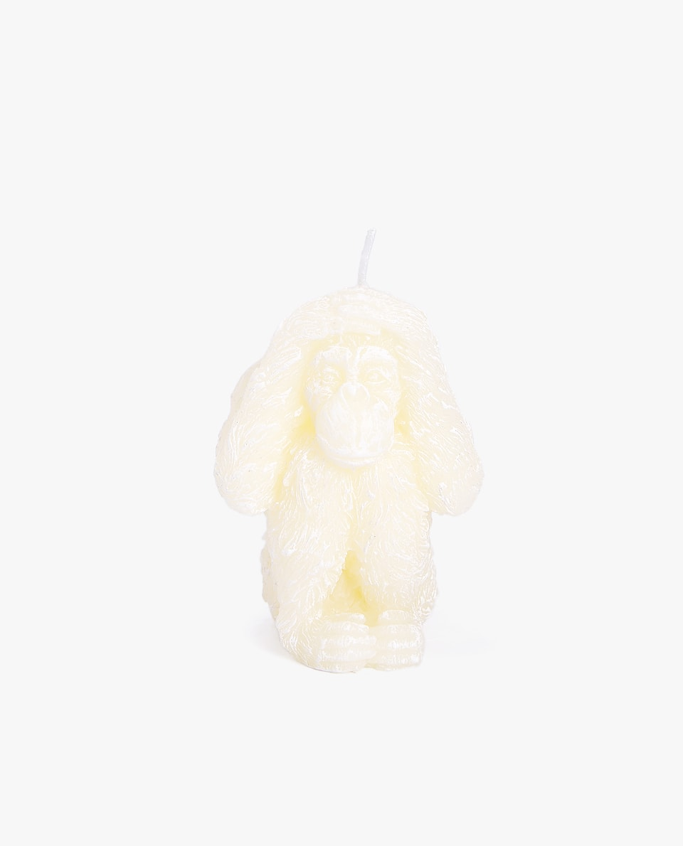 MONKEY-SHAPED CANDLE