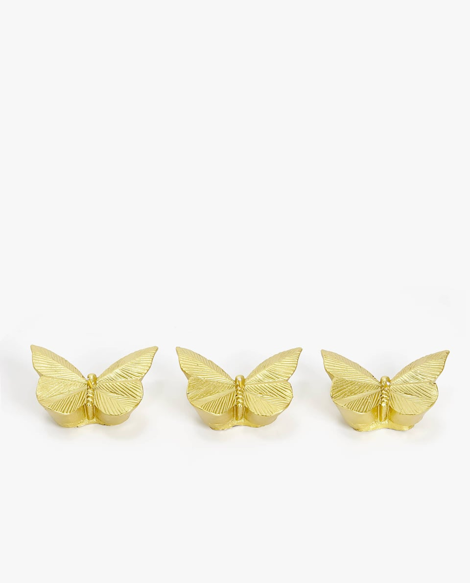 BUTTERFLY SHAPED CANDLE (PACK OF 3)