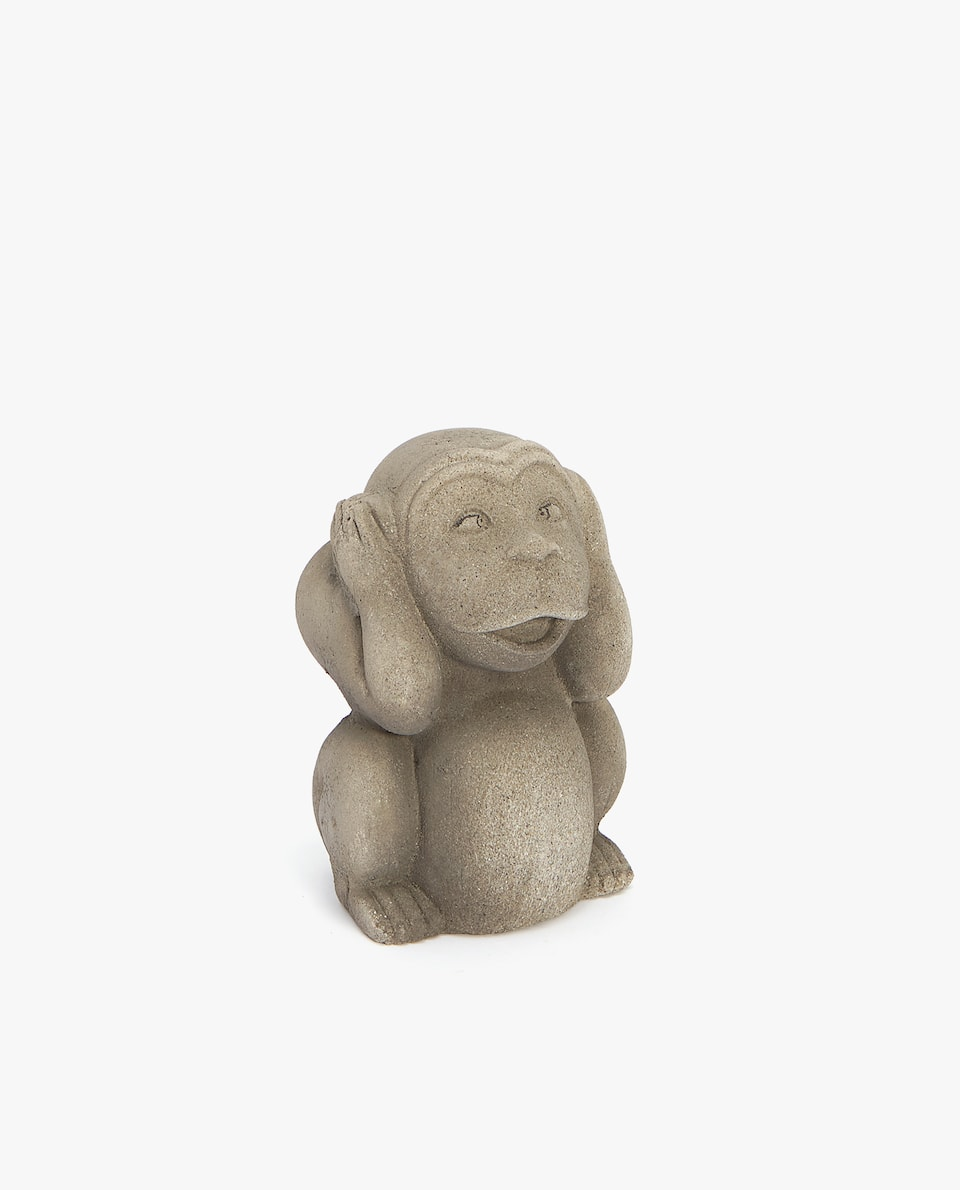 DECORATIVE CEMENT MONKEY
