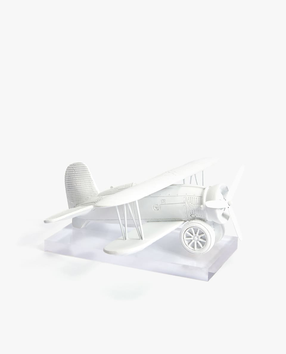 DECORATIVE AEROPLANE FIGURE