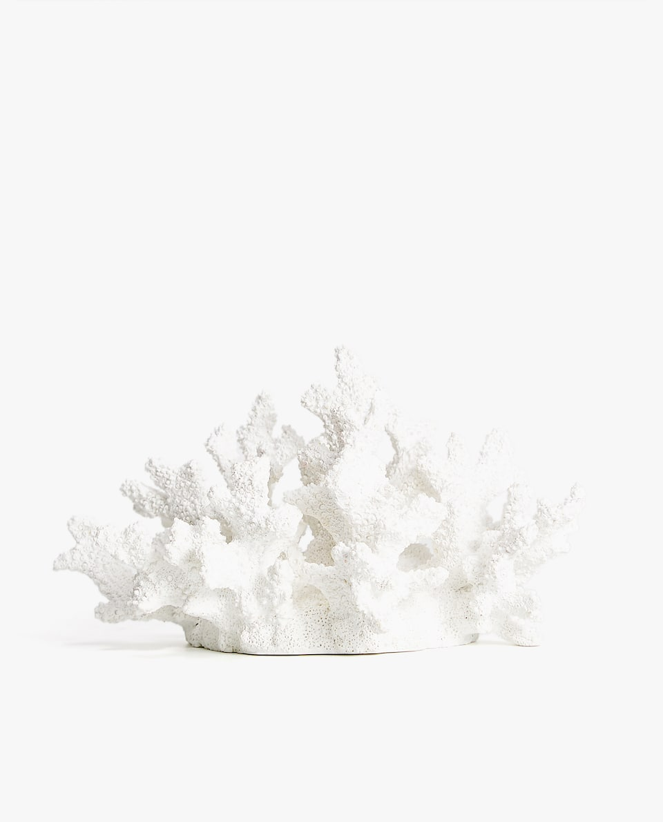 DECORATIVE CORAL FIGURE