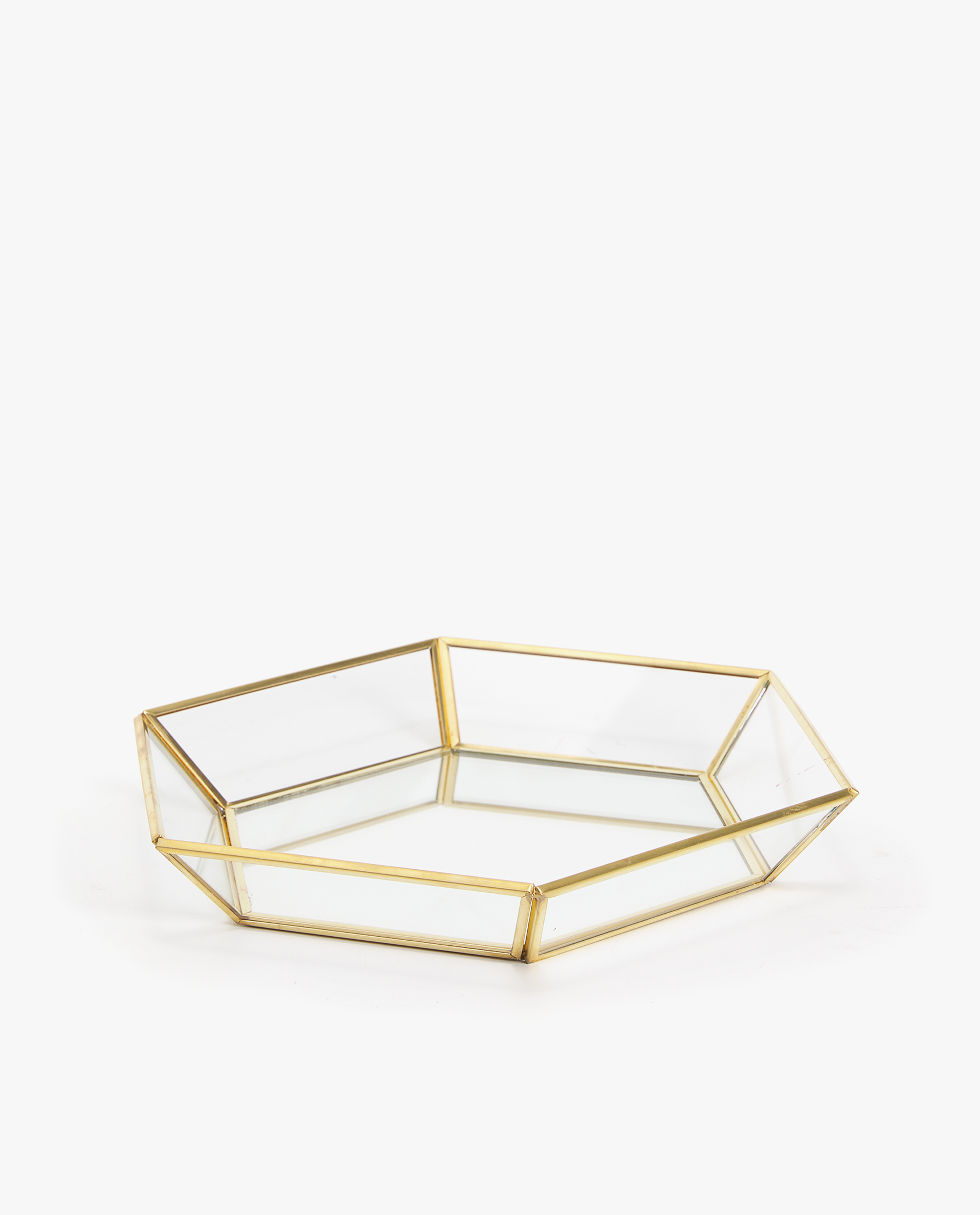 Bandeja Decorativa Hexagonal by Zara Home