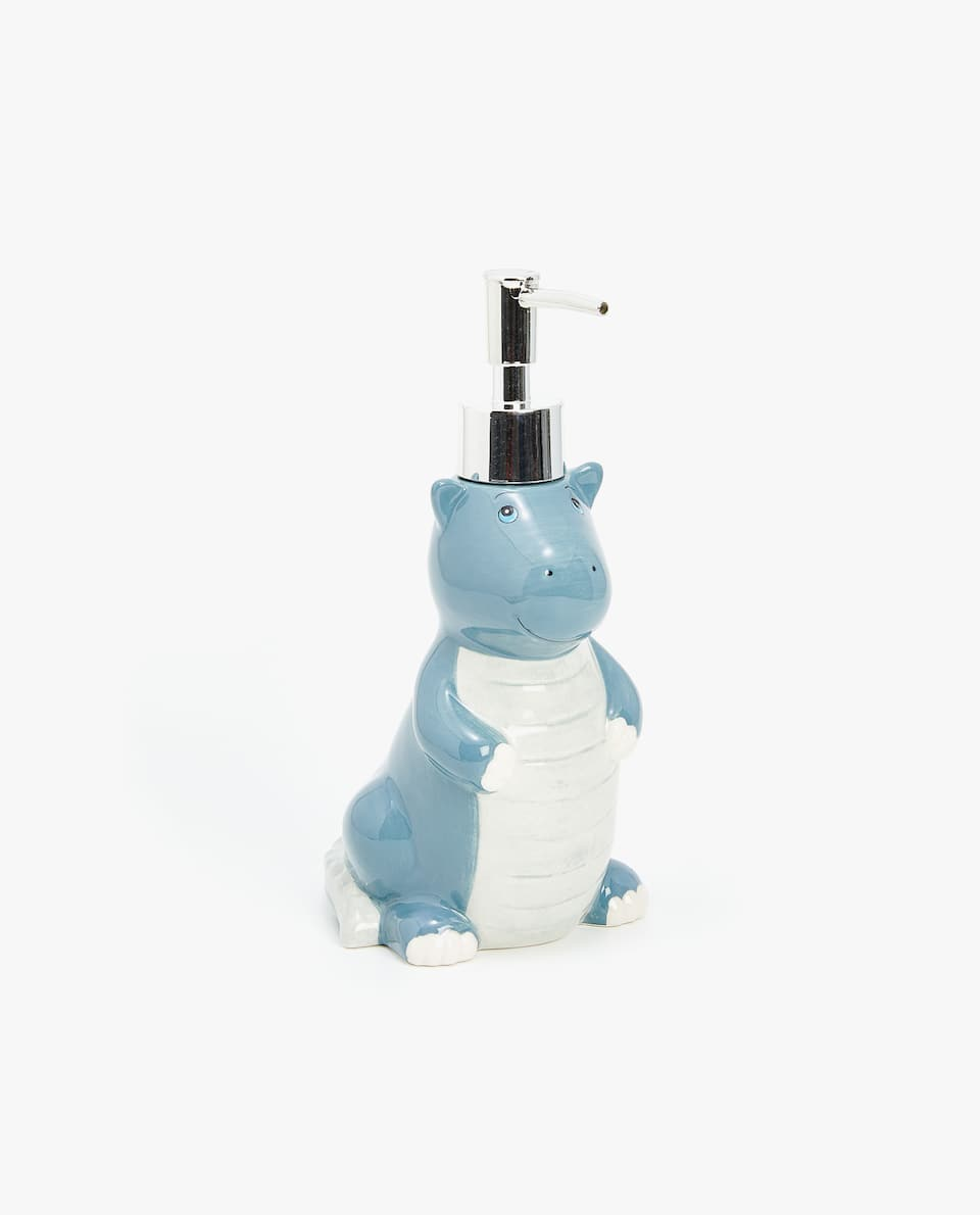 CERAMIC DINOSAUR DISPENSER