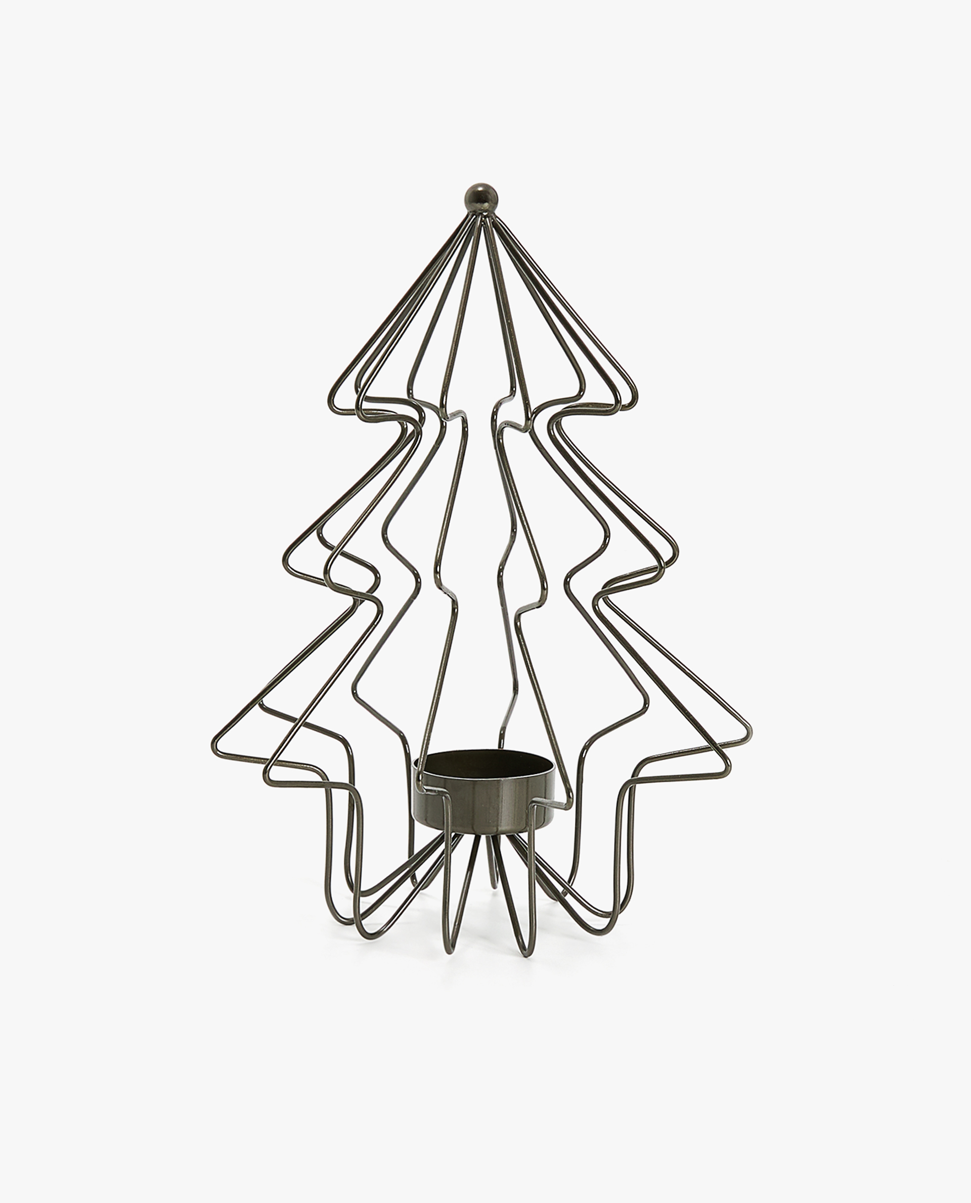 TREE-SHAPED TEALIGHT HOLDER - NORDIC - SHOP BY STYLE - CHRISTMAS ...