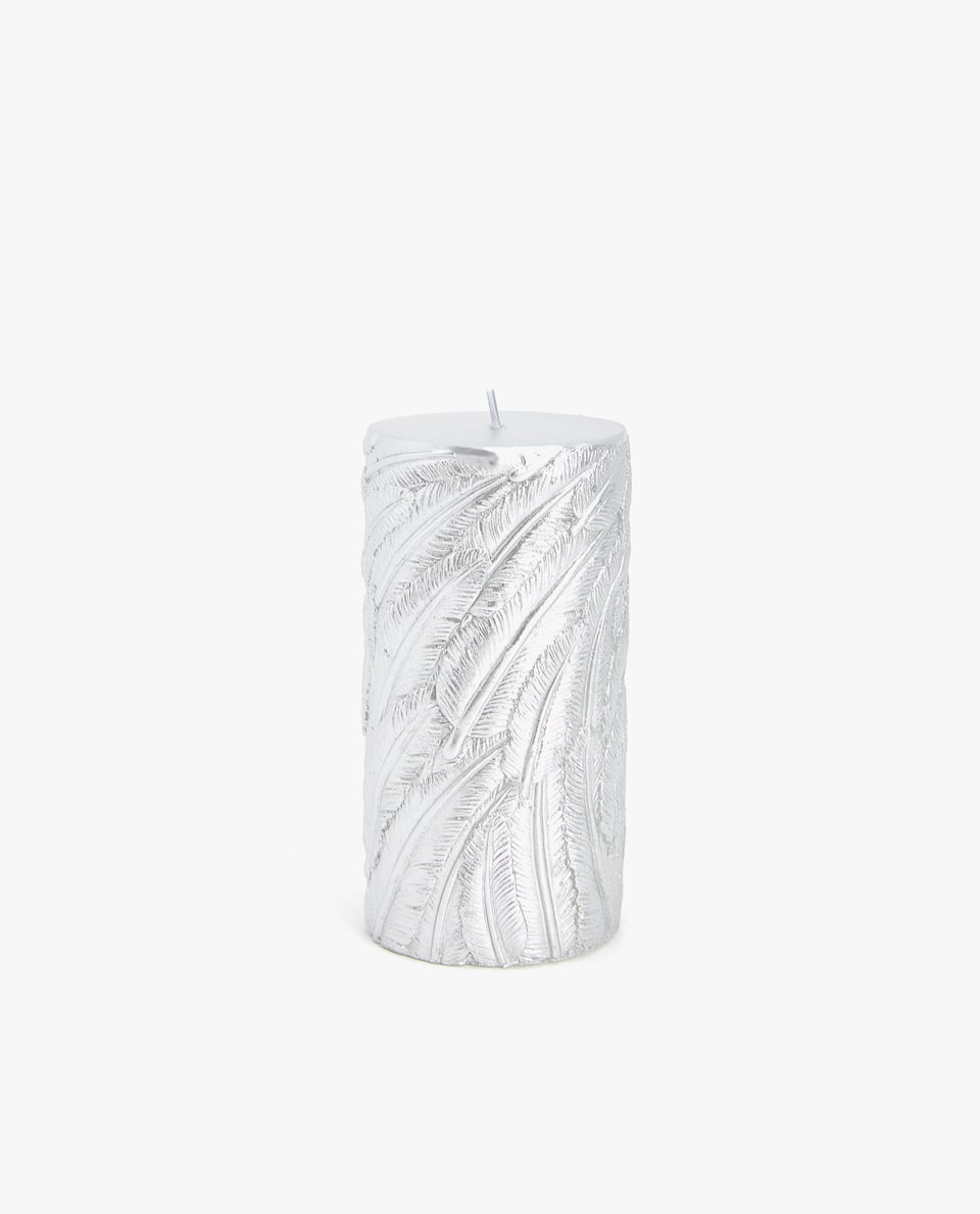 CYLINDRICAL LEAVES CANDLE