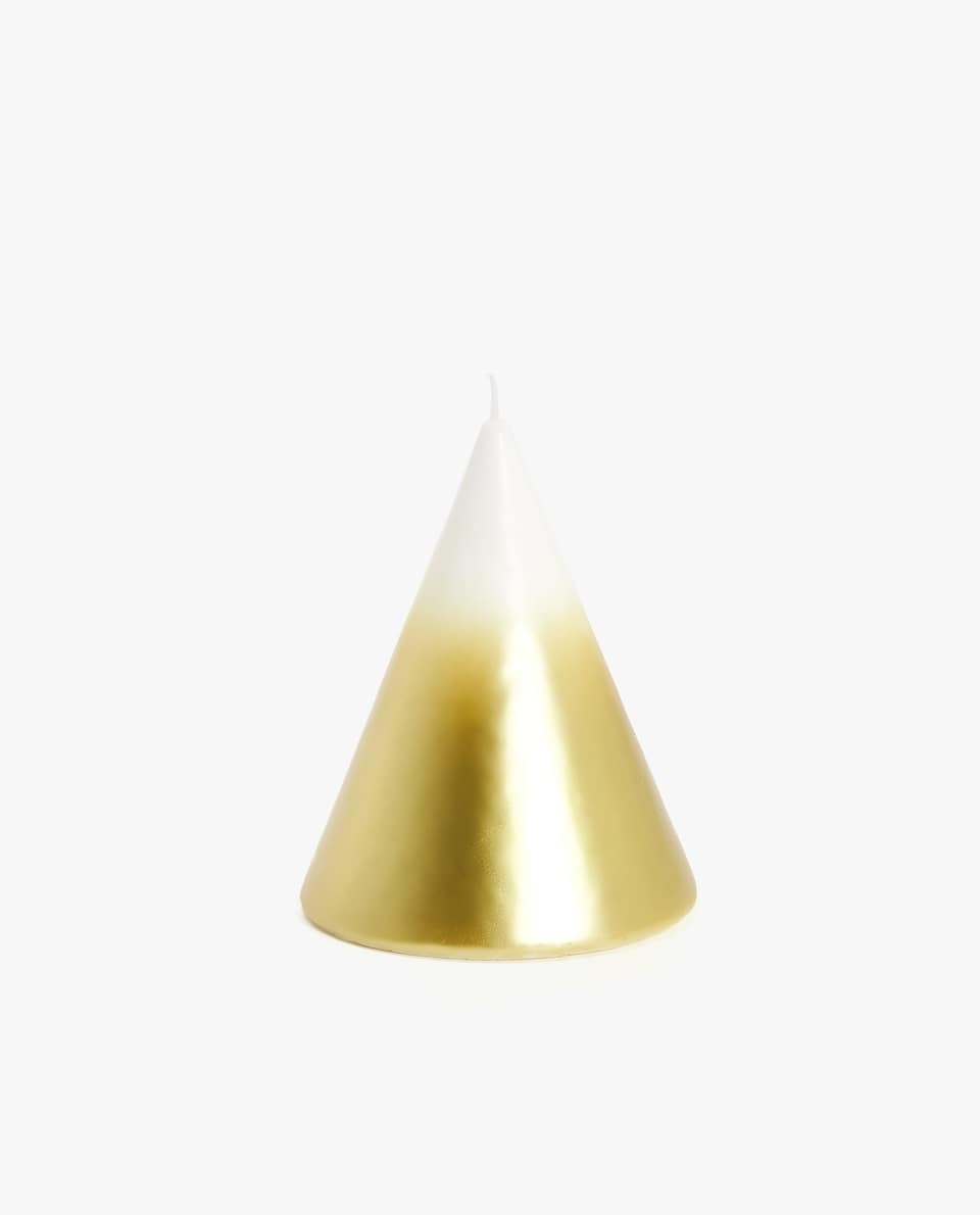 OMBRÉ GOLDEN CANDLE