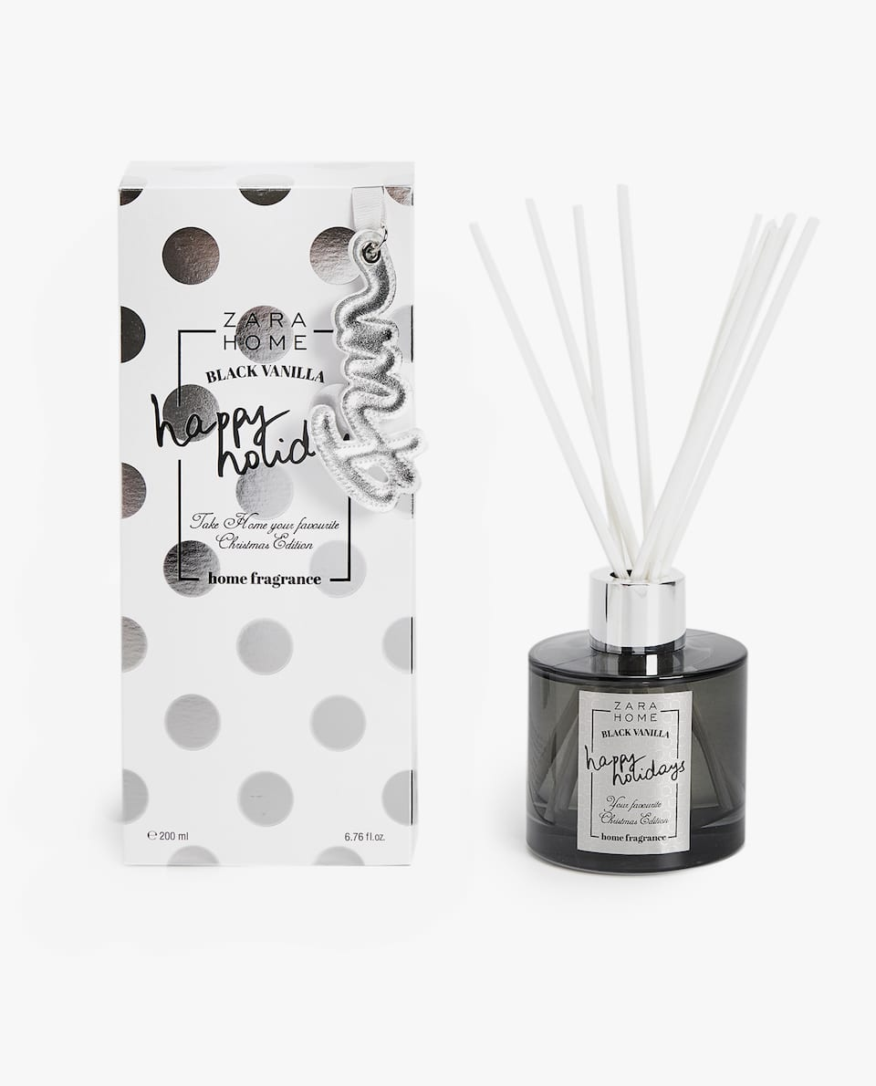 BLACK VANILLA AIR FRESHENER STICKS (200 ML)