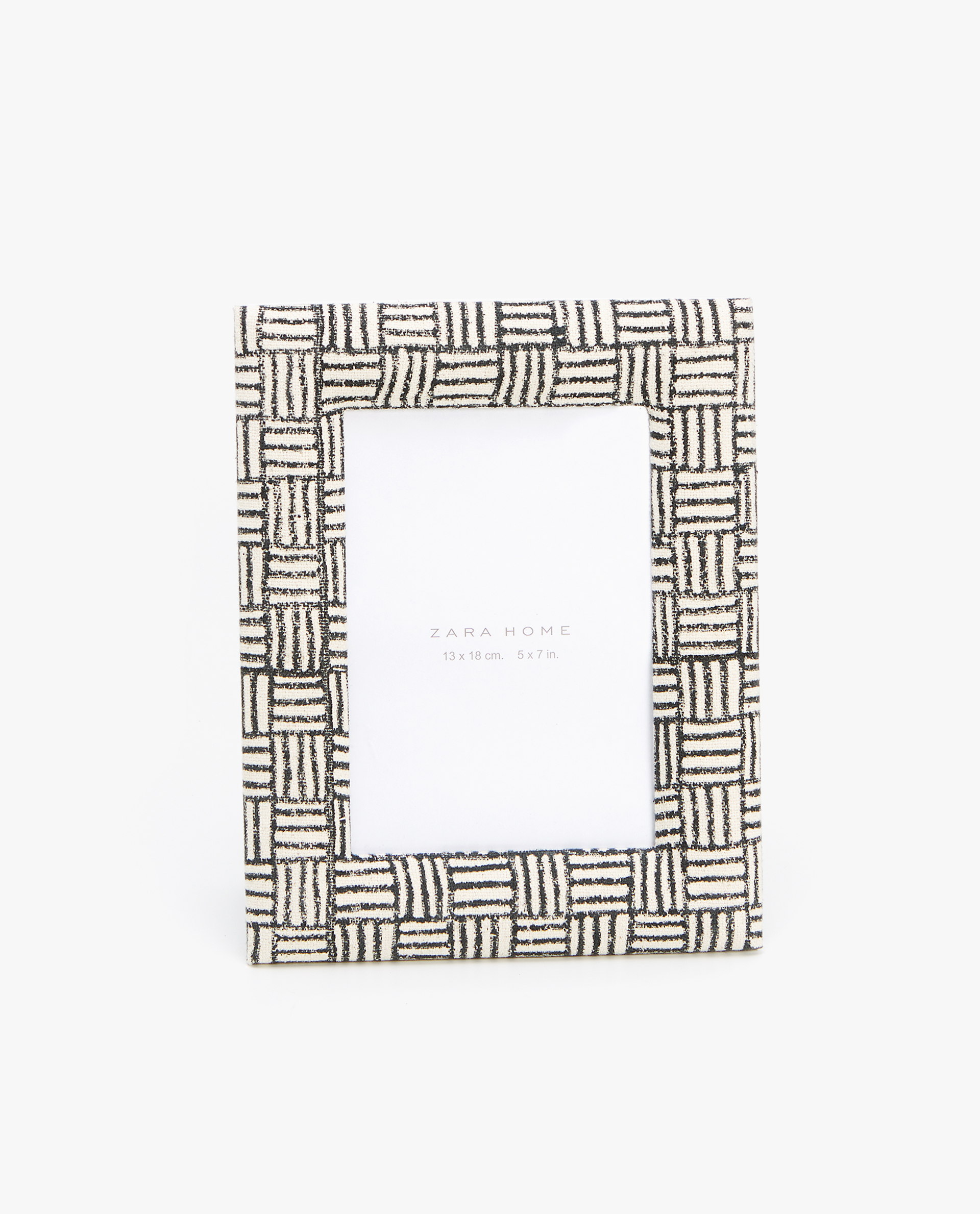 TWO-TONE FABRIC FRAME