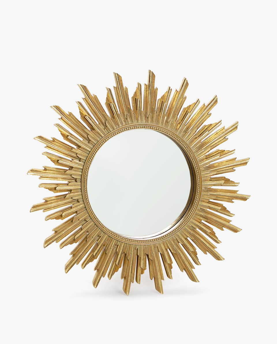 MEDIUM SUN-SHAPED MIRROR
