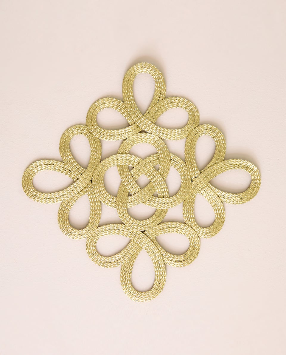 INTERWOVEN FABRIC TRIVET