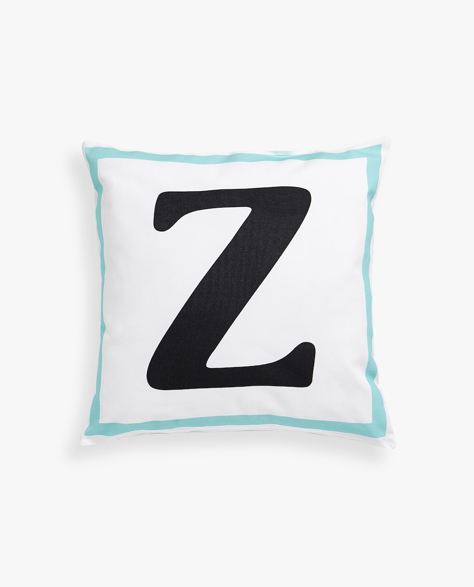 LETTER 'Z' CUSHION COVER