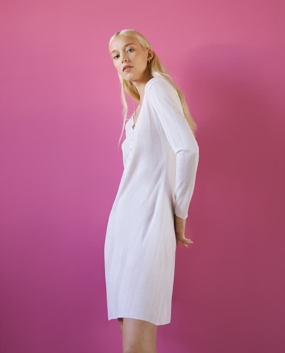 LONG SLEEVE LYOCELL NIGHTDRESS