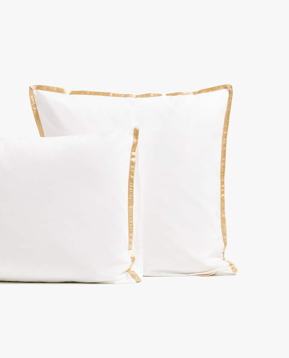 PILLOWCASE WITH SATEEN RIBBON