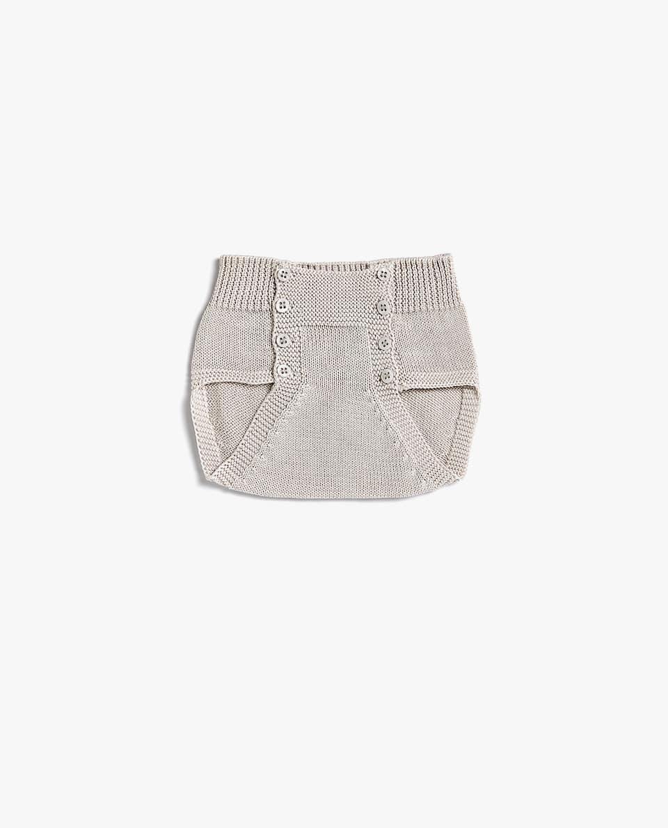 PURL KNIT BRIEFS