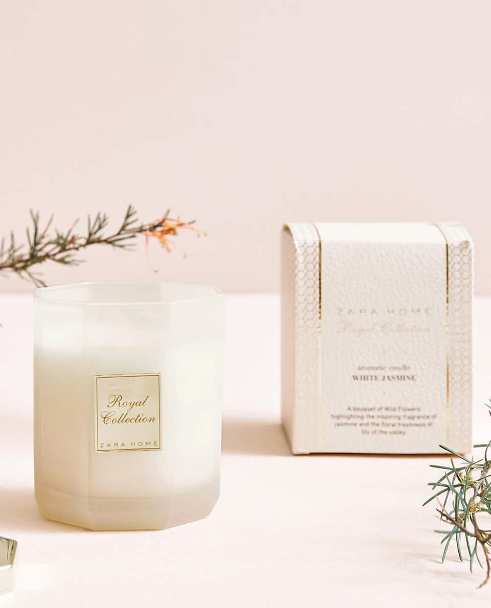 WHITE JASMINE AROMATIC CANDLE