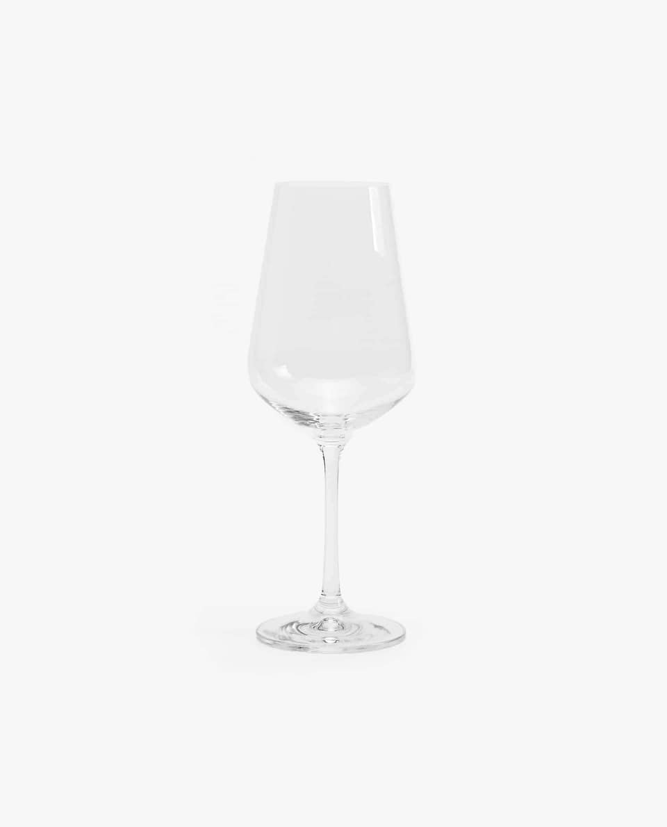 CRYSTALLINE WINE GLASS