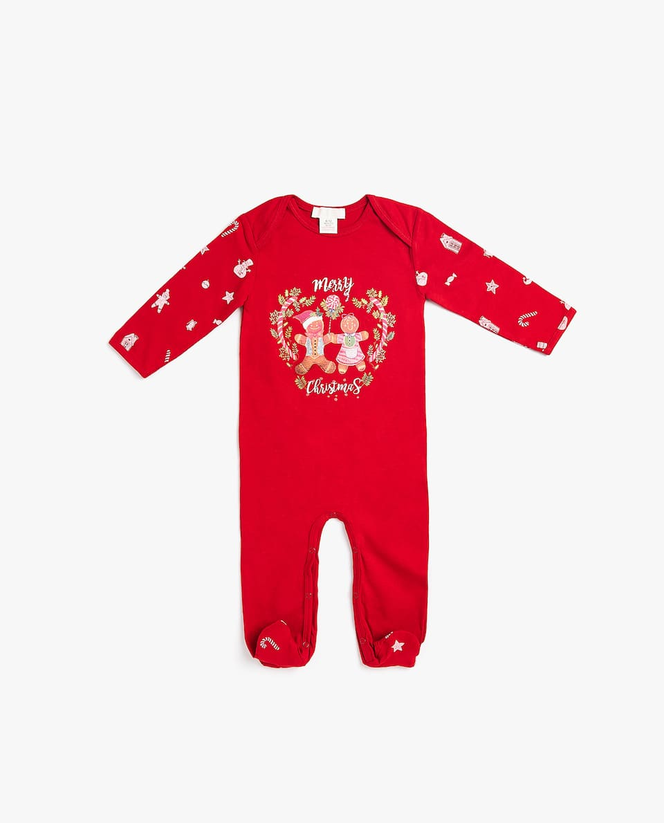GINGERBREAD ROMPER SUIT