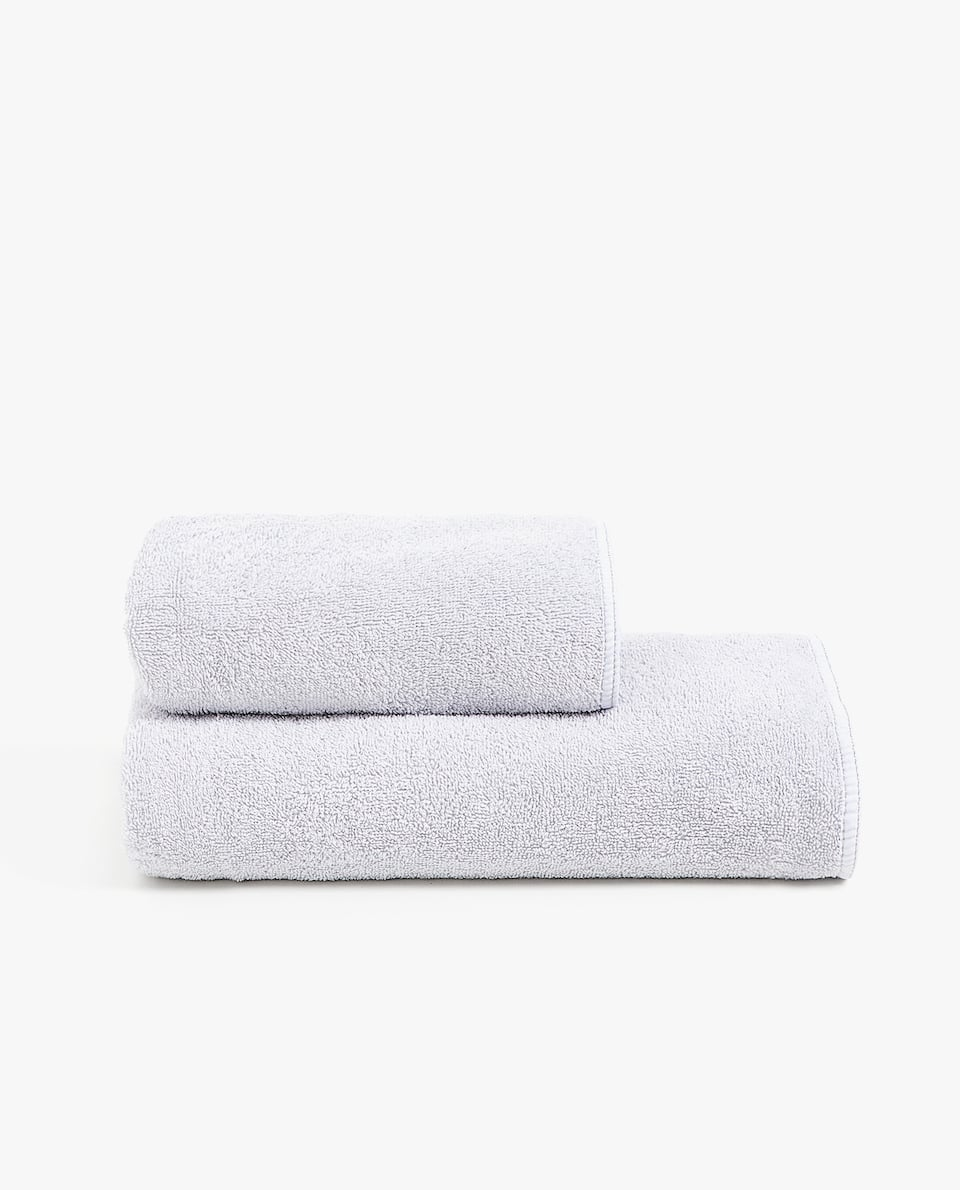 METALLIC THREAD COTTON TOWEL