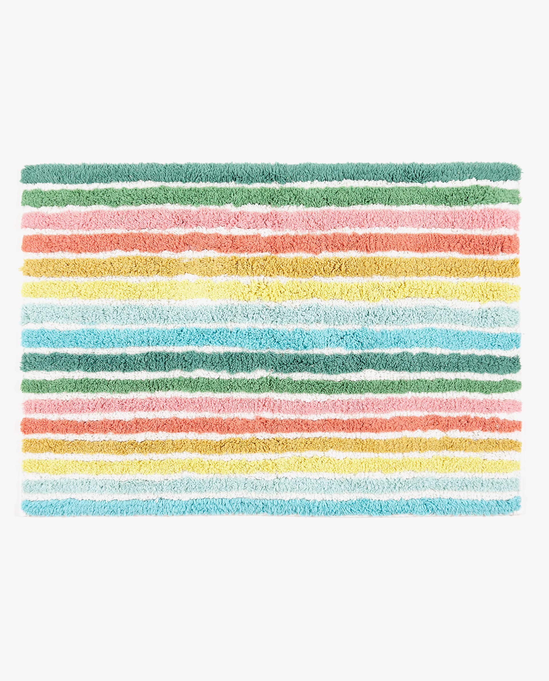 Multicoloured Bath Mat