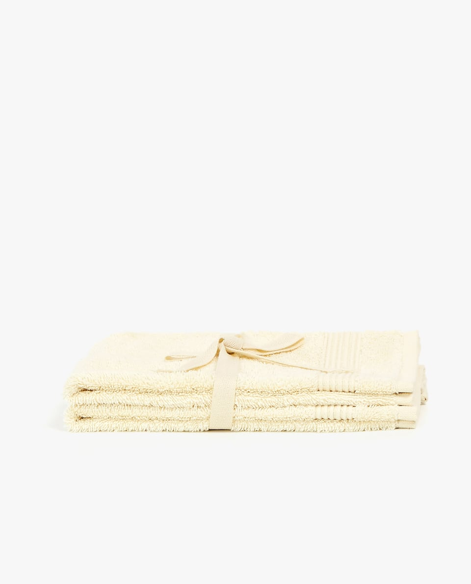 ECOLOGICALLY GROWN COTTON TOWEL (SET OF 2)