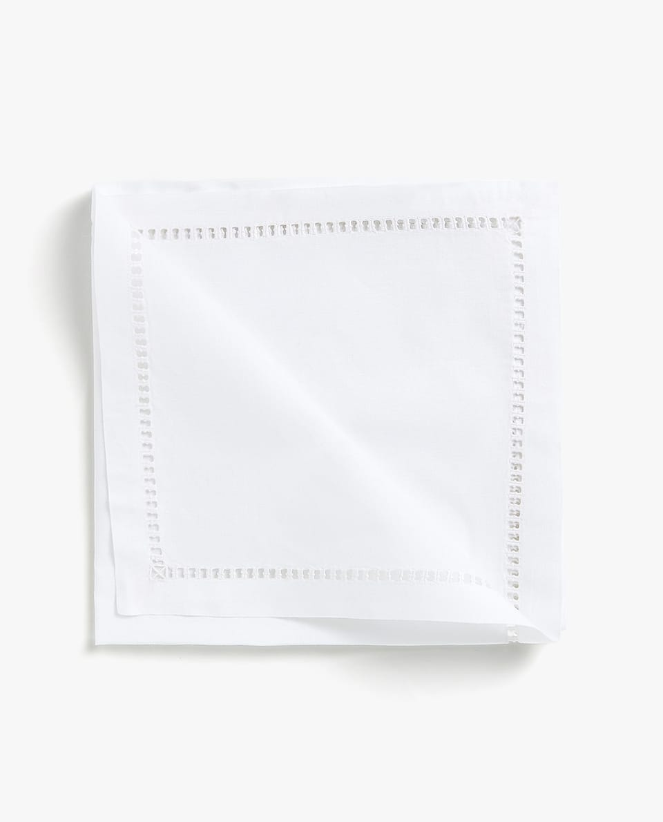 HEMSTITCHED NAPKIN (PACK OF 4)