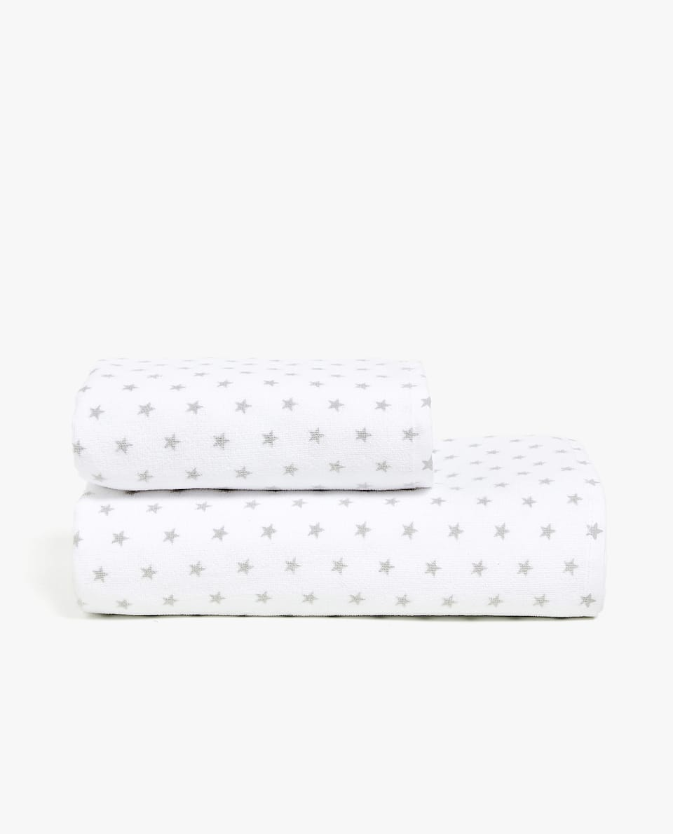 STAR PRINT COTTON TOWEL
