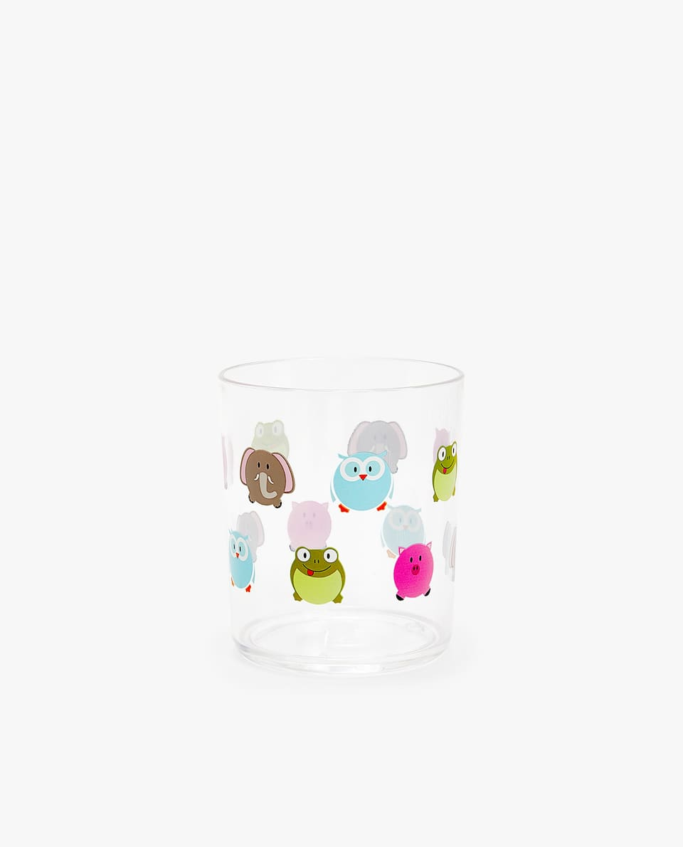 MULTICOLOURED ANIMAL CUP