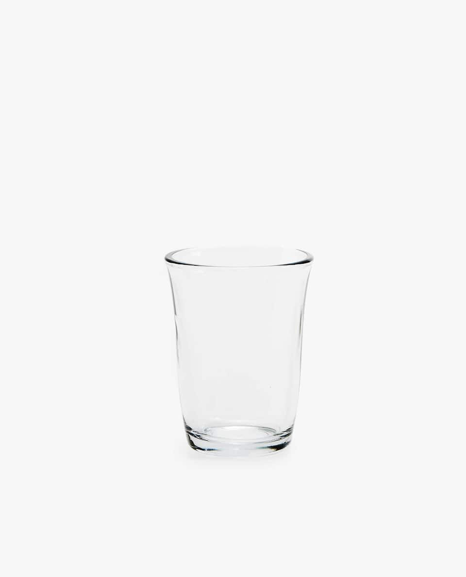 THICK GLASS TUMBLER