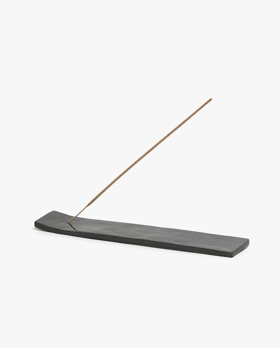 MOTHER-OF-PEARL-EFFECT INCENSE HOLDER