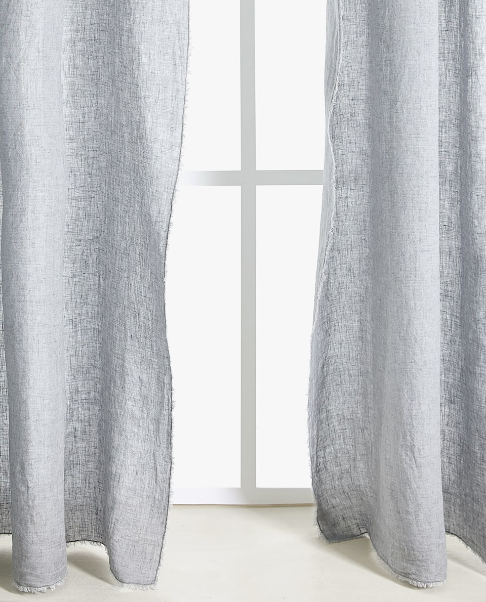 Visillos y cortinas zara home for Cortinas bebe zara home