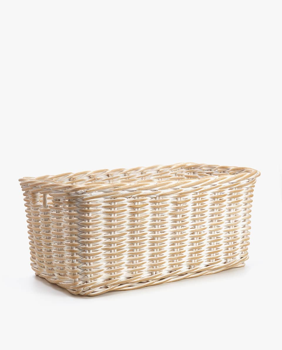 THICK RATTAN BASKET