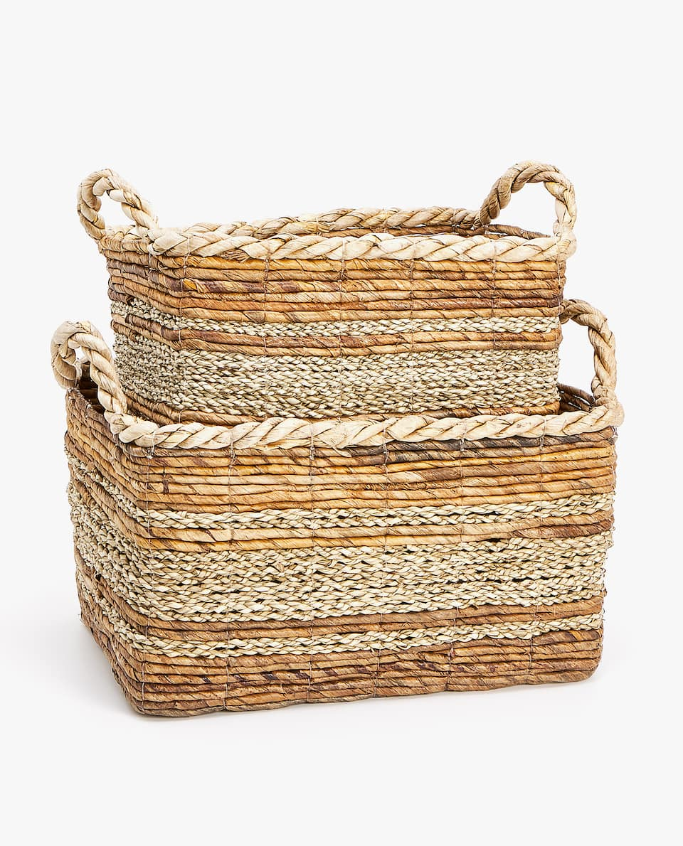 TEXTURED BASKET