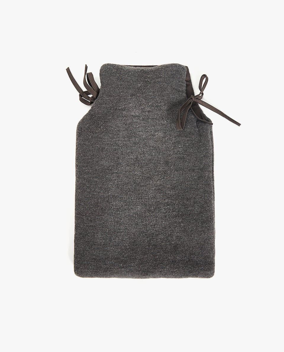 COTTON HOT WATER BOTTLE