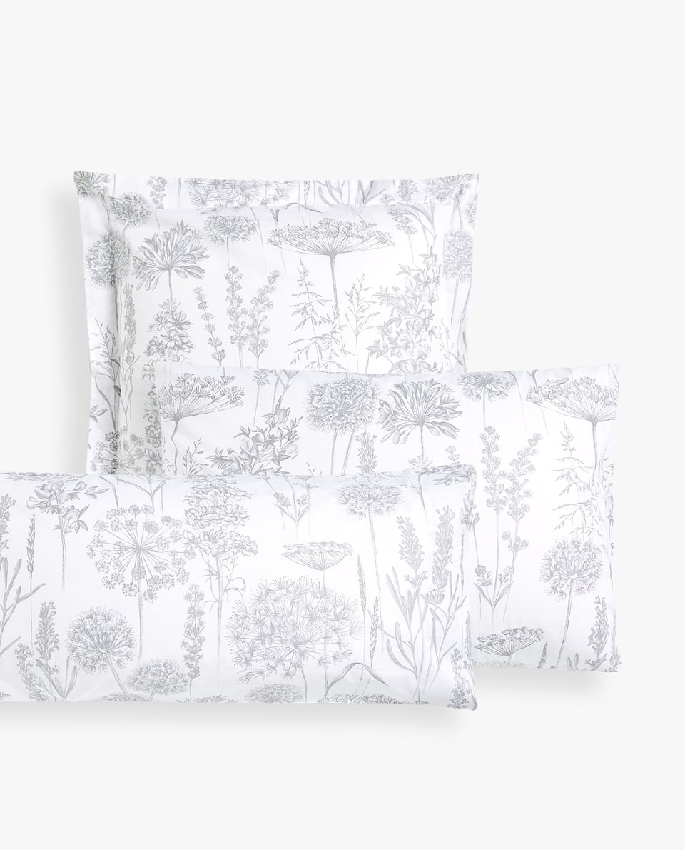 DANDELION PRINT PILLOWCASE