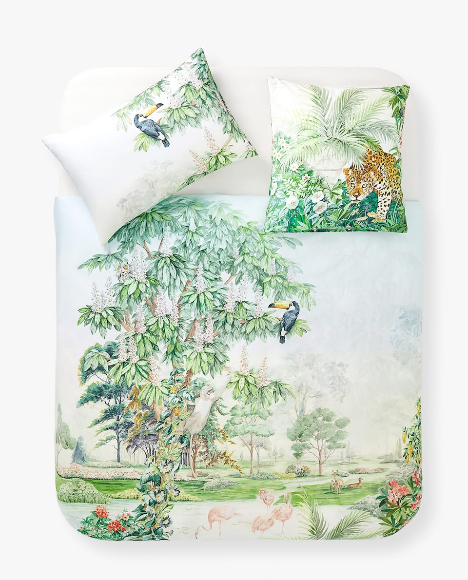GARDEN OF EDEN PRINT DUVET COVER