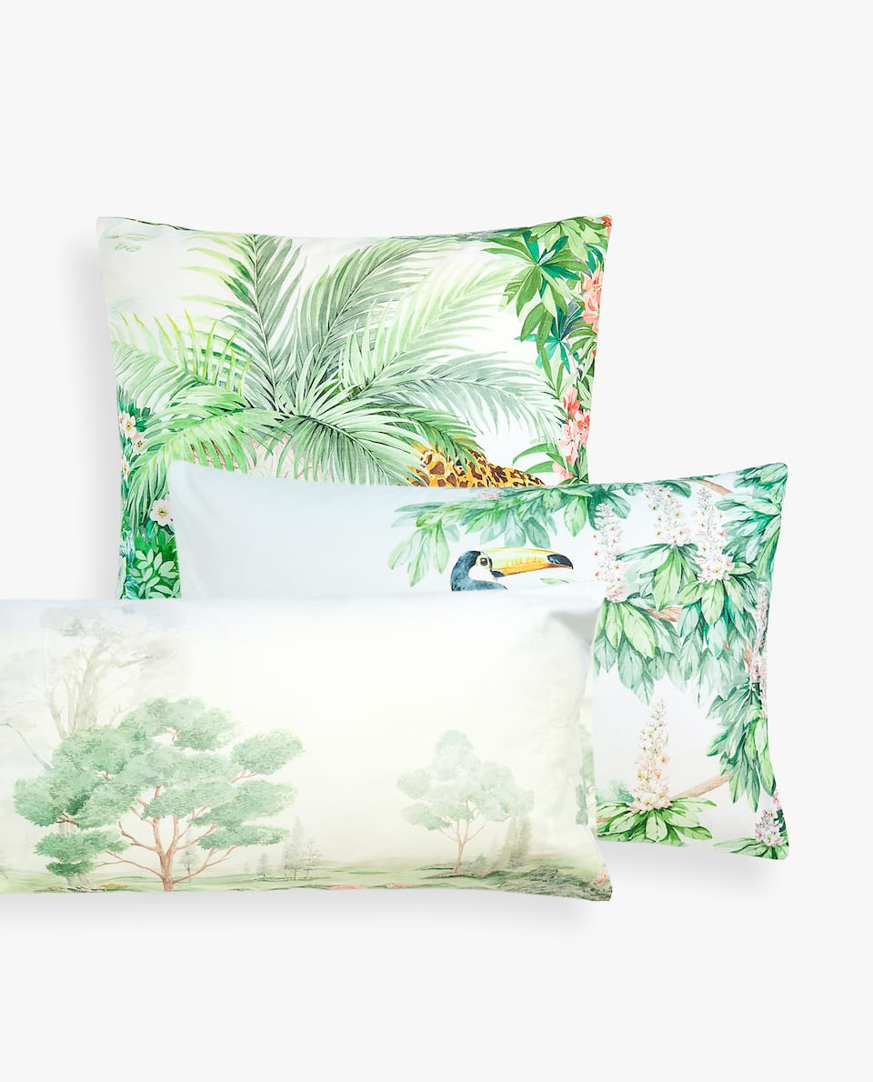 GARDEN OF EDEN PRINT PILLOWCASE