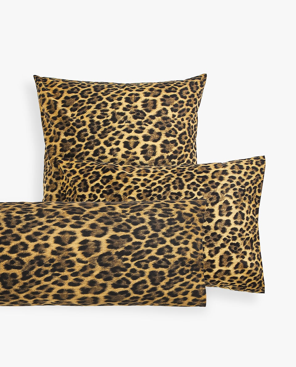 LEOPARD PRINT PILLOWCASE