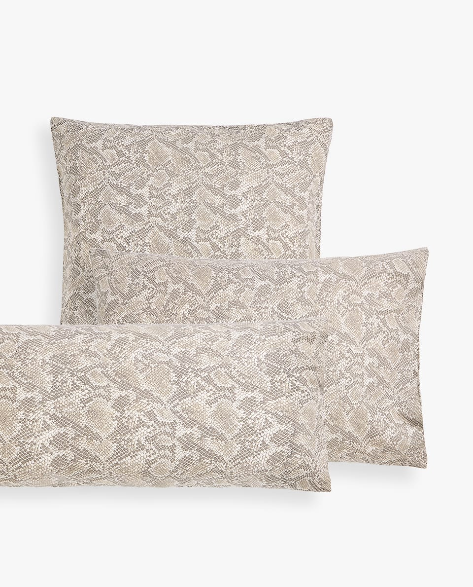 SNAKE PRINT PILLOWCASE