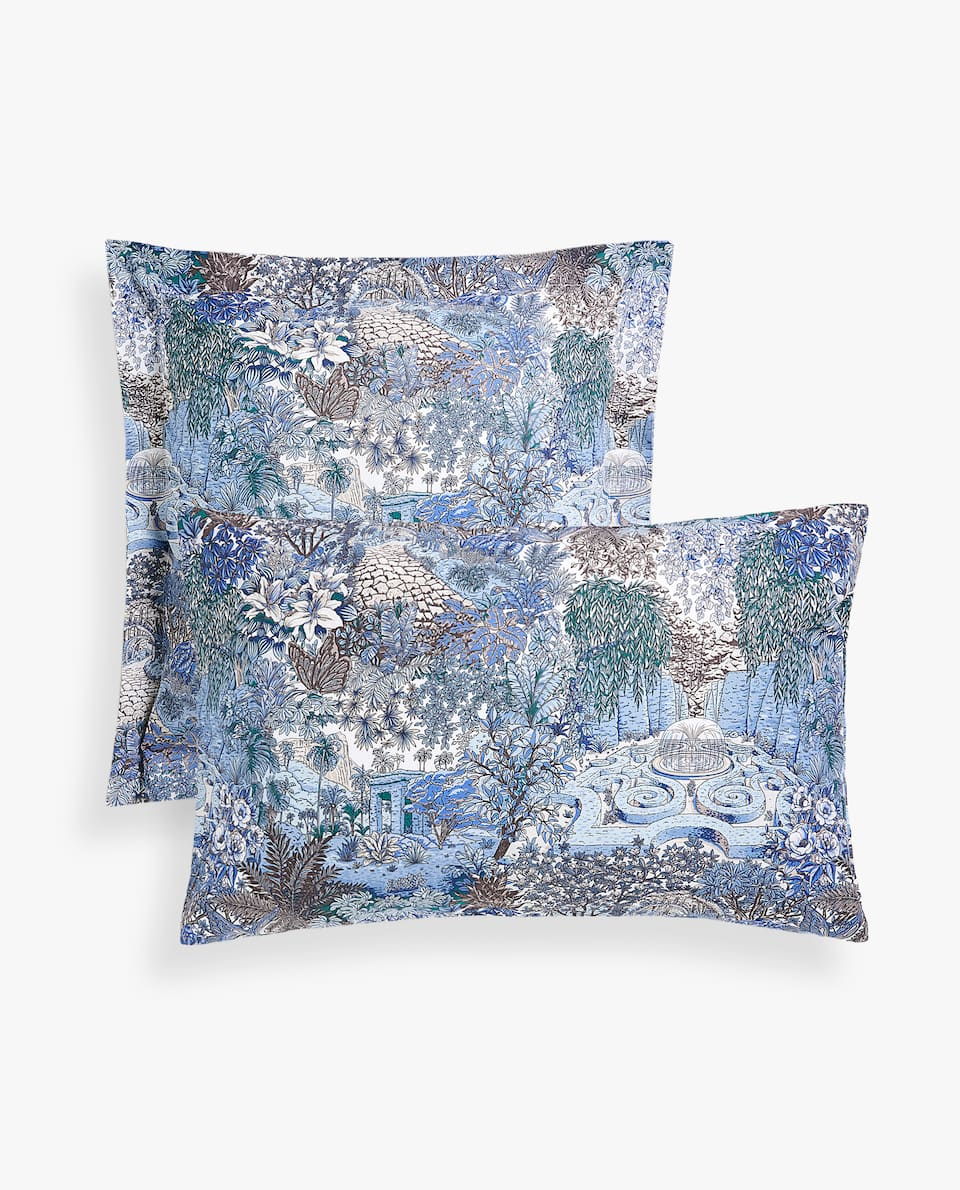 BOTANICAL GARDEN PILLOWCASE