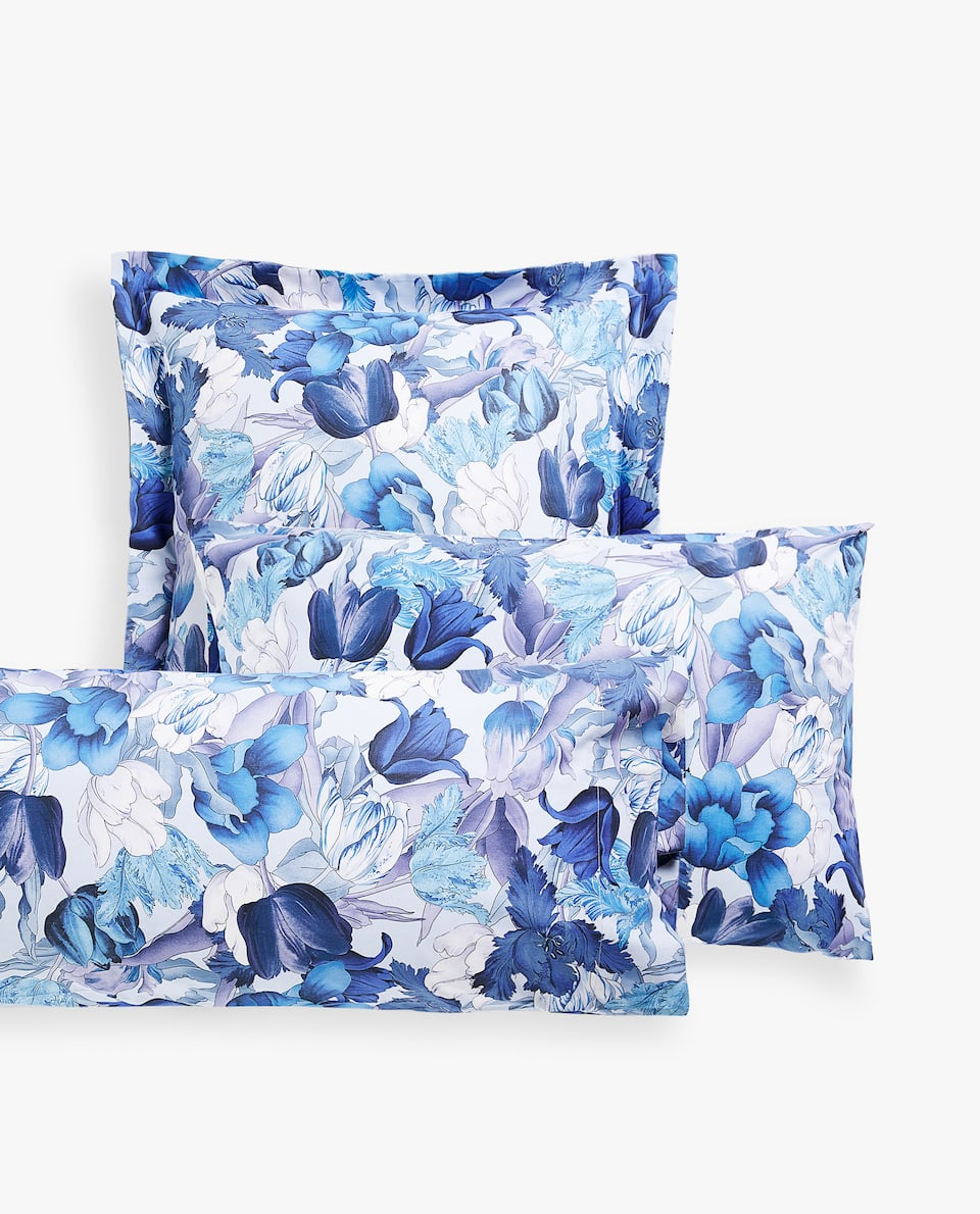 TULIP PRINT PILLOWCASE