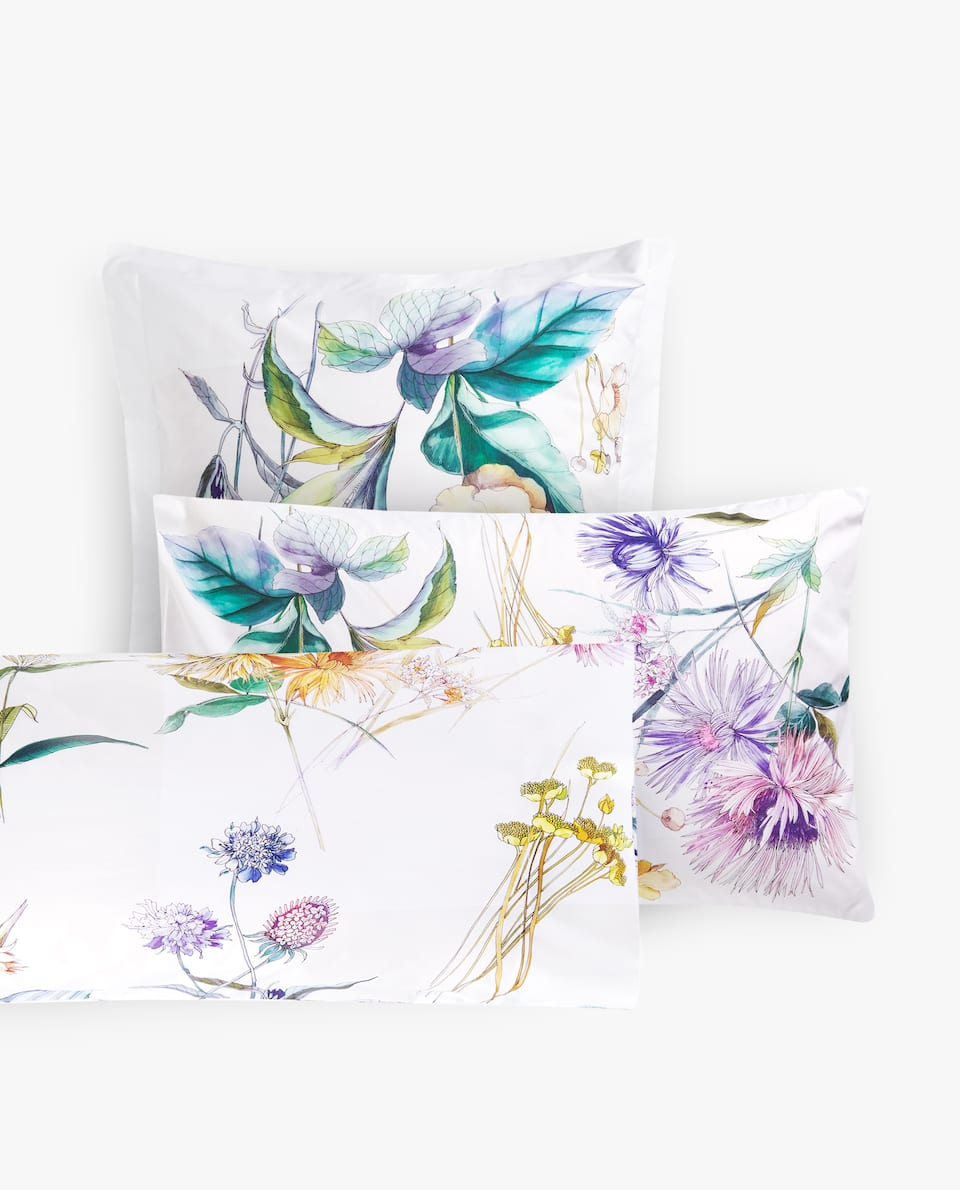 BOTANICAL PRINT PILLOWCASE