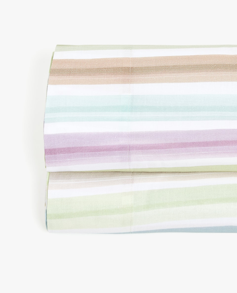 STRIPED PRINT FLAT SHEET