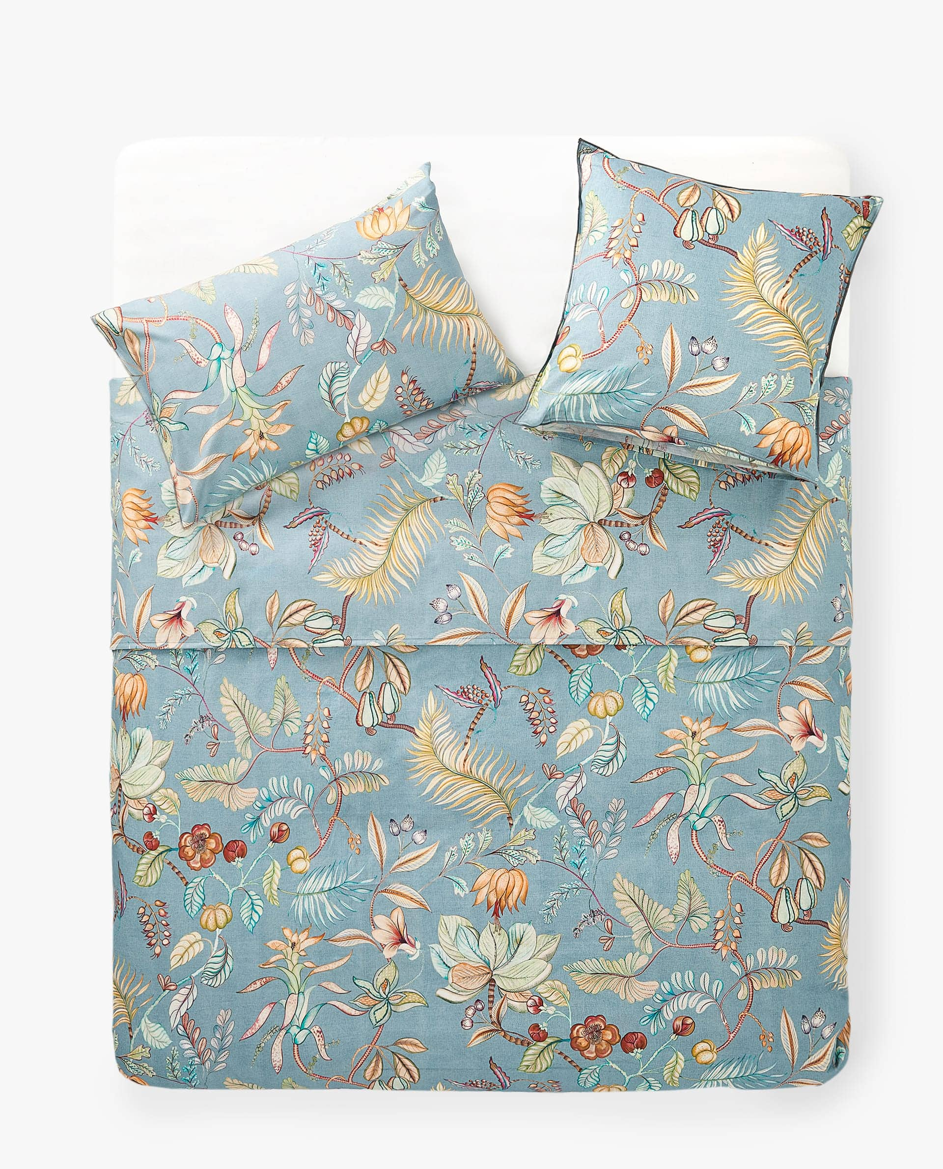 Branches And Flowers Duvet Cover Flat Sheets Bedroom Zara Home