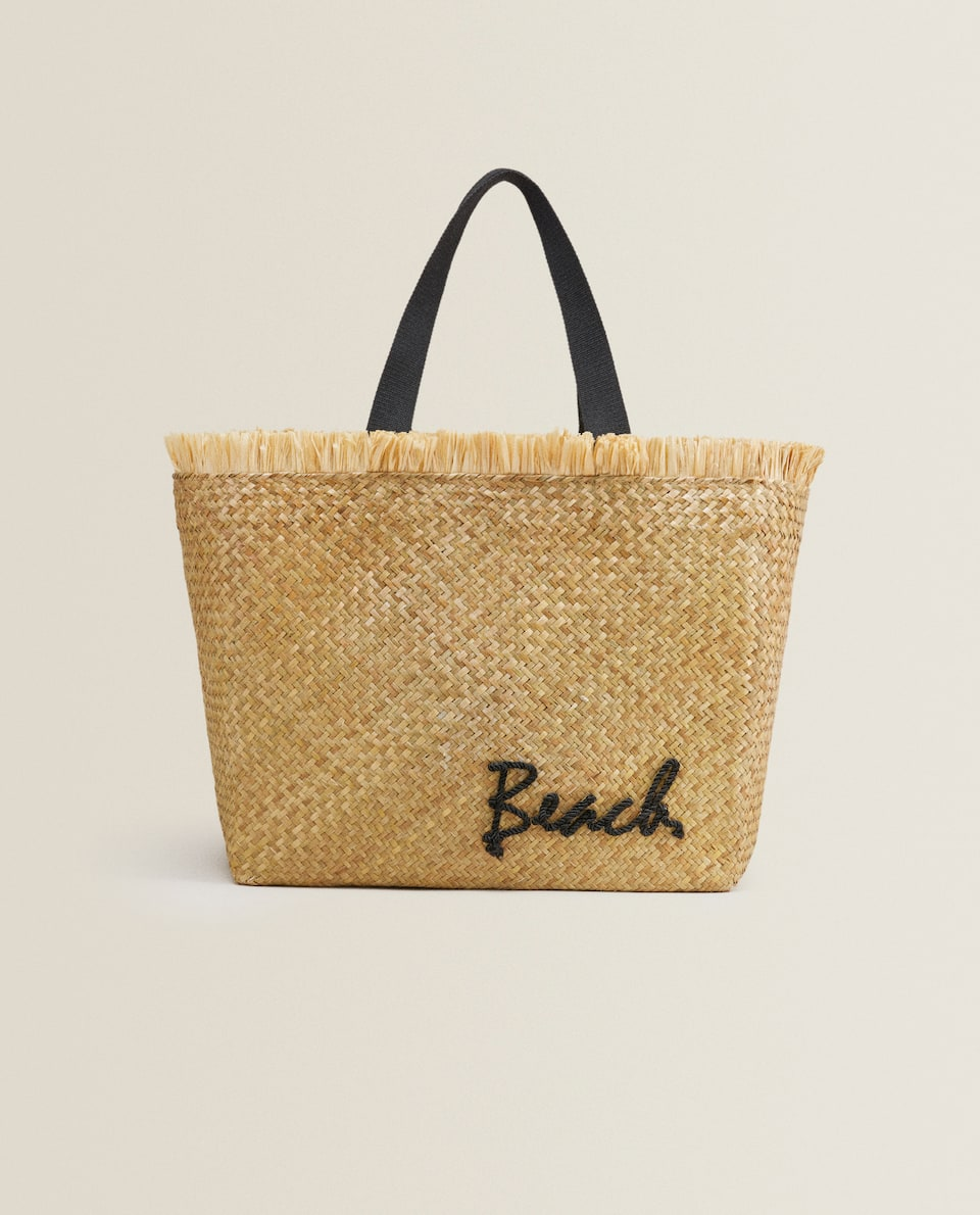 TOTE WITH BEACH DETAIL