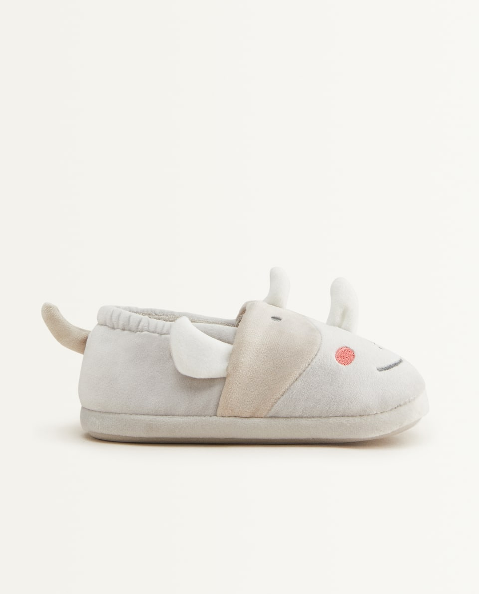 RHINOCEROS SLIPPERS
