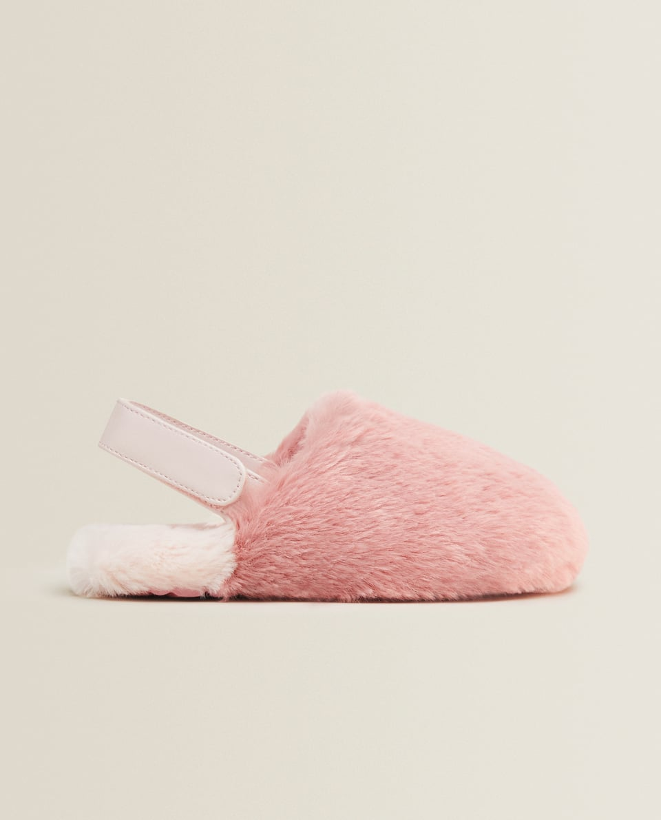 WARM MULE CLOG SLIPPERS