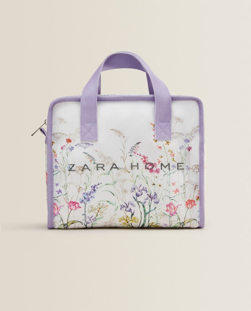 FLORAL PRINT MINI TOTE BAG *EXCLUSIVELY FOR JAPAN*
