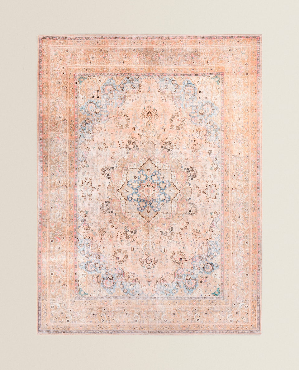 PINK-TONED RUG