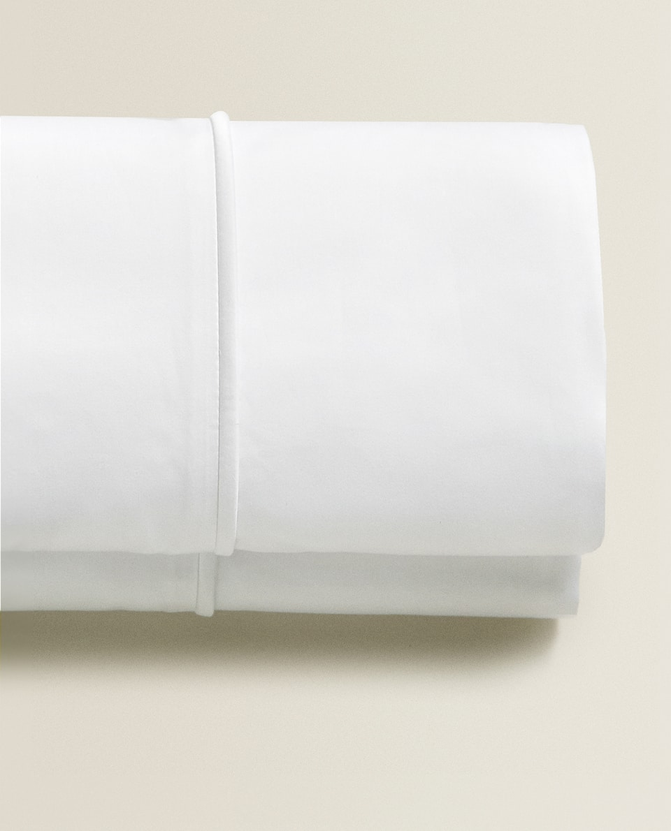 (500 THREAD COUNT) SATEEN FLAT SHEET